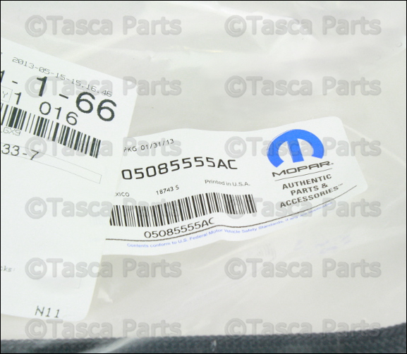 NEW OEM FUEL RAIL TO CHASSIS SUPPLY LINE 2005-10 CHRYSLER PT CRUISER #5085555AC