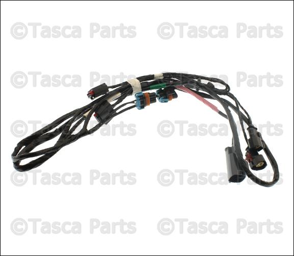 oem mopar front fascia bumper wiring harness chrysler 300. Black Bedroom Furniture Sets. Home Design Ideas