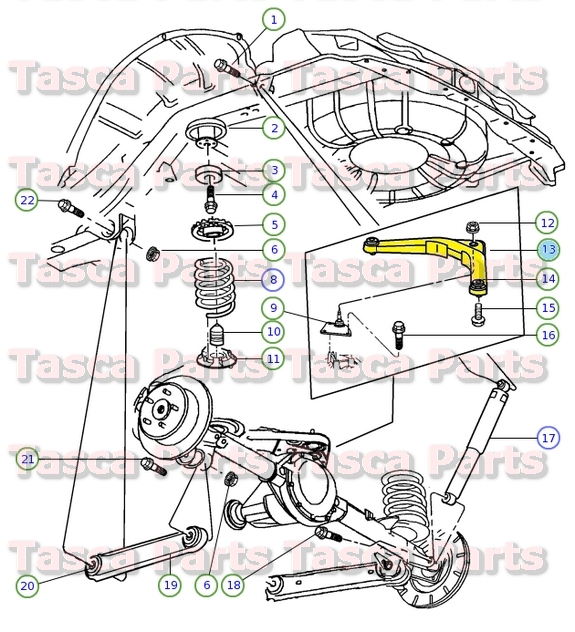 Jeep Liberty Rear Suspension Diagram