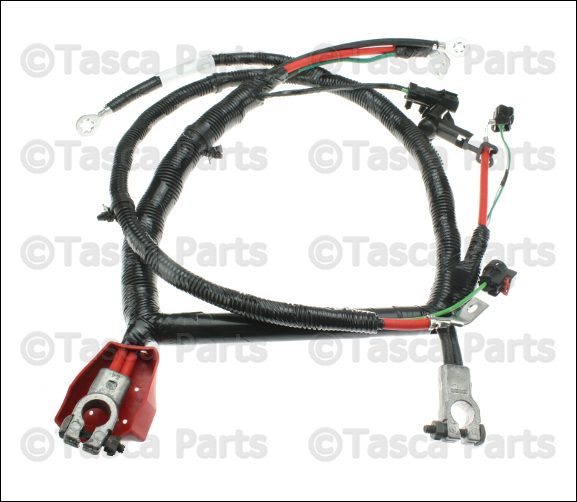 New Oem Mopar Alternator  U0026 Battery Wiring Harness 2002