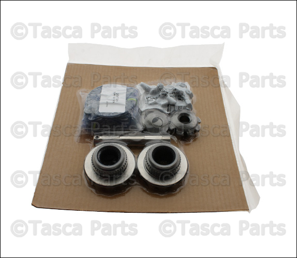 oem rear axle differential center gear kit 2007 2013 jeep wrangler 68035643aa ebay. Black Bedroom Furniture Sets. Home Design Ideas