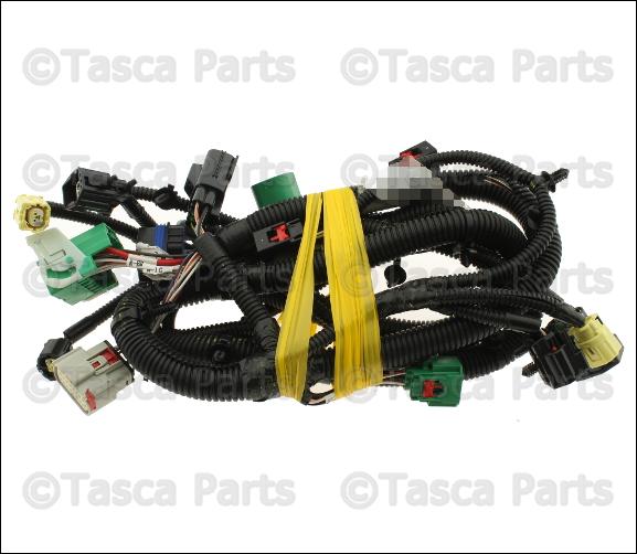new oem headlight wiring harness 2009 2010 jeep wrangler w v6 engine 68042580aa ebay