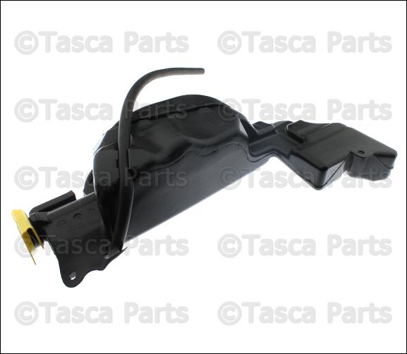 NEW OEM MOPAR RADIATOR OVERFLOW TANK 2009-2013 DODGE RAM TRUCKS #68050749AA