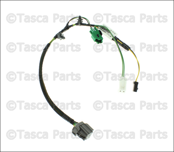new oem mopar front heated recliner seat wiring harness 2008
