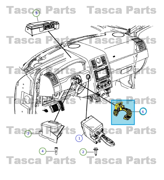 chrysler 300 factory replacement parts