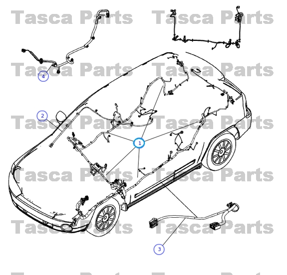 brand new oem mopar unified body wiring harness 2010 dodge ... 2005 jeep wrangler stereo wiring harness 2010 jeep patriot stereo wiring harness #14