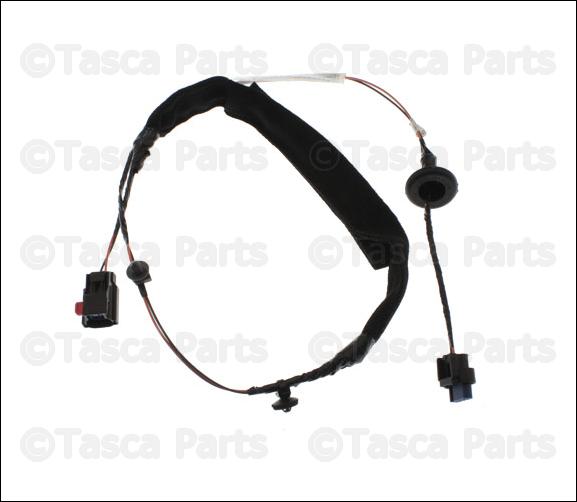 oem mopar lh front door panel wiring harness 2011 2013 jeep wrangler 68066015ad ebay