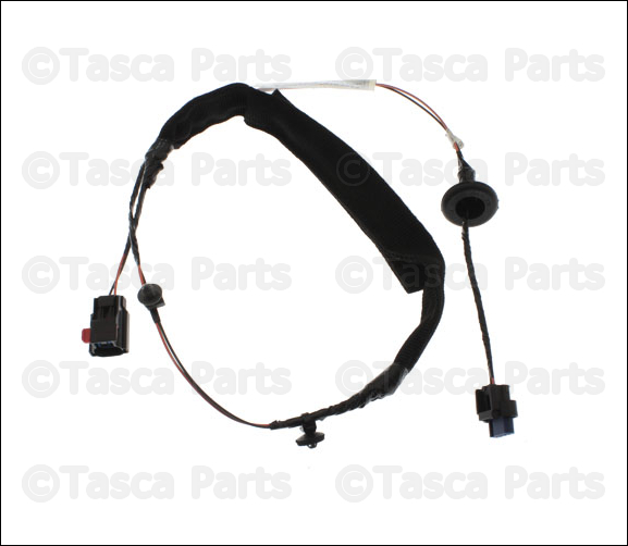 oem mopar lh front door panel wiring harness 2011 2013 jeep 1989 Jeep Cherokee Headlight Wiring Diagram jeep panel wiring 2000 Jeep Grand Cherokee Stereo Wiring Jeep Metal Plates jeep yj instrument panel wiring