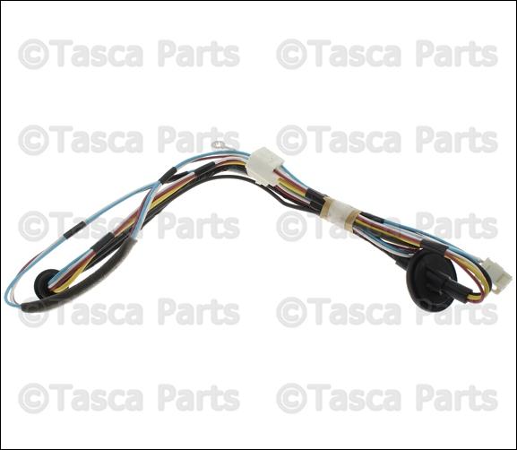 new oem mopar rear wiper motor wiring harness 2011 2013 jeep grand ebay
