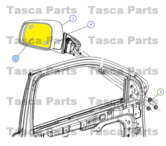 Wiring Diagrams For 2006 C7500 For Ac as well Dodge Nitro 4 0 Engine Diagram together with 2003 Silverado Mirror Wiring Diagram moreover 231661410613 additionally 94 Chevy Transfer Case Schematic. on jeep mirror replacement