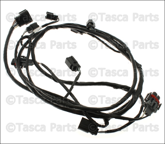 Oem Front Bumper Park Assist Wiring Harness 2011