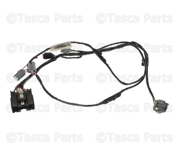 oem mopar floor console wiring harness 2011