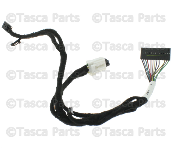 new oem mopar steering wheel wiring harness 2012 2015 ram trucks 68163713ab ebay