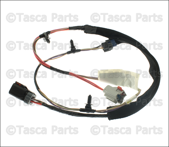 New oem right side rear door panel wiring harness