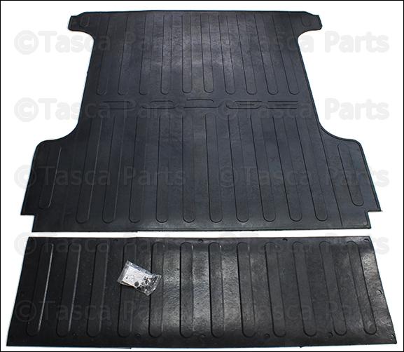 Dodge Ram Bed Mat: BRAND NEW GENUINE OEM MOPAR 5.7' BED MAT WITH DODGE LOGO