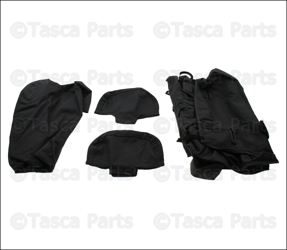 BRAND NEW GENUINE OEM MOPAR CHARCOAL GREY SEAT COVERS 2009