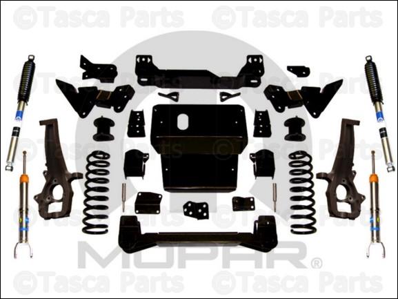 genuine oem mopar 3 lift kit with bilstein strut and rear shocks 09 11 ram 1500 ebay. Black Bedroom Furniture Sets. Home Design Ideas