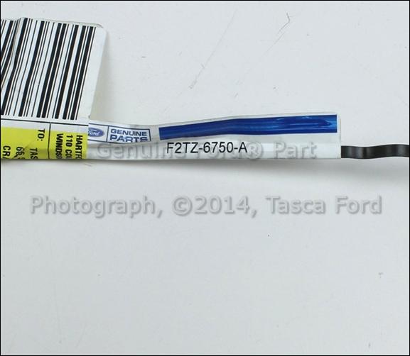 NEW OEM ENGINE DIPSTICK FORD F150 F250 F350 BRONCO 5.8L ENGINE #F2TZ-6750-A