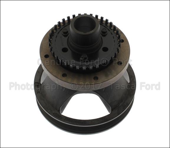 NEW OEM 3.8 3.9L V6 ENGINE CRANKSHAFT PULLEY W / VIBRATION