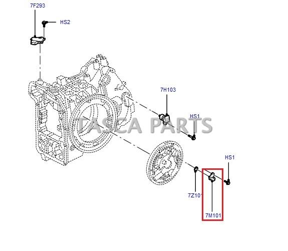 2008 Mercury Sable Camshaft: OEM MOTORCRAFT TURBINE SHAFT SPEED SENSOR 2002-2008 FORD