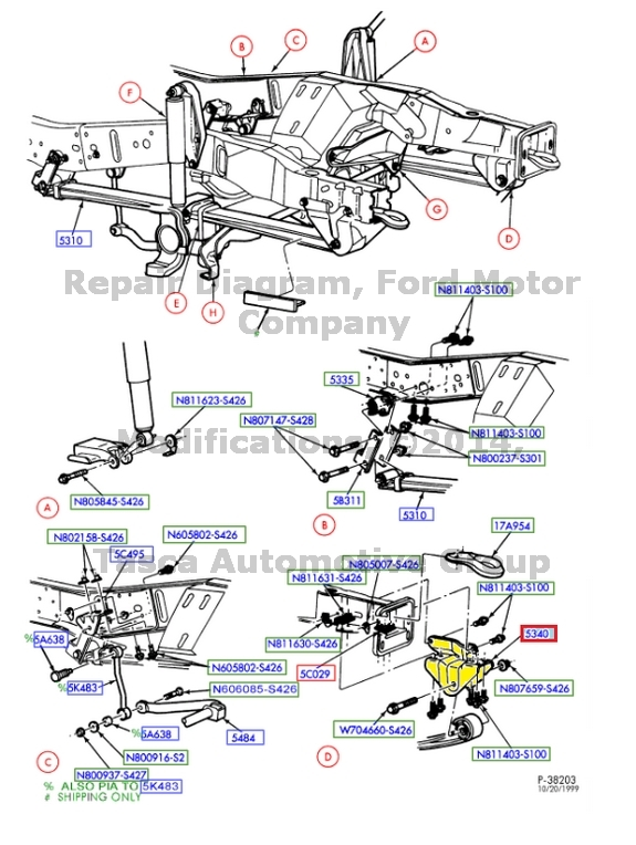 30 F350 Front Suspension Diagram