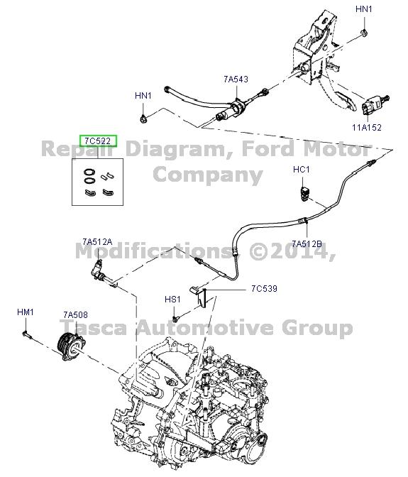 brand new genuine ford mercury oem clutch master cylinder. Black Bedroom Furniture Sets. Home Design Ideas