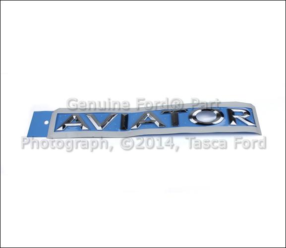 BRAND NEW OEM AVIATOR EMBLEM 2003-2005 LINCOLN AVIATOR #2C5Z-7842528-AA