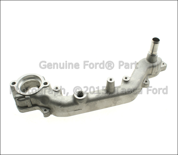 Brand new oem engine coolant water bypass tube l ford