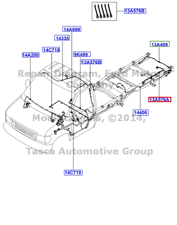 281135621847 on ford oem trailer wiring harness