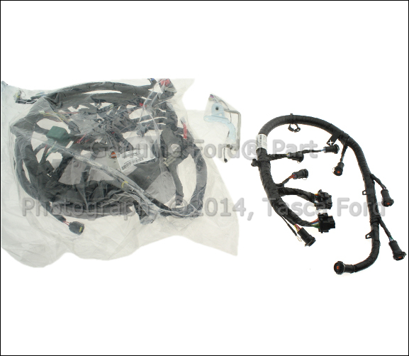 new oem engine wiring harness 2003 ford f250 f350 f450. Black Bedroom Furniture Sets. Home Design Ideas