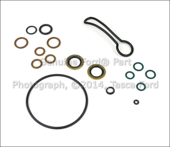 new oem engine fuel filter seal kit ford excursion f250