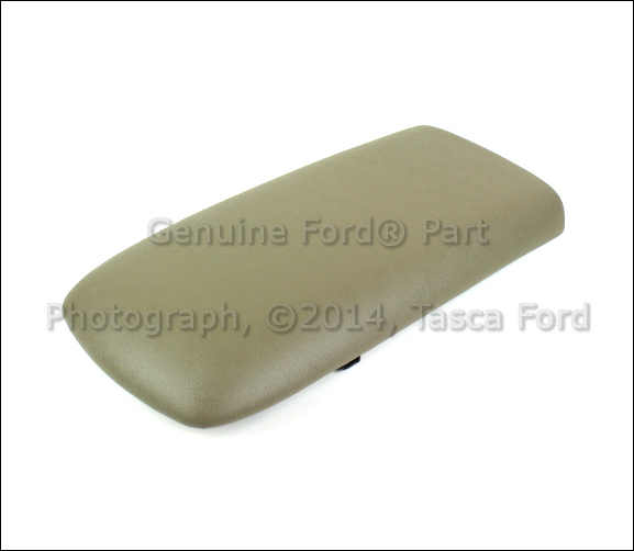 2005 Ford Explorer Sport Trac Interior: NEW OEM DARK PEBBLE CENTER CONSOLE LID DOOR 2003-2005 FORD