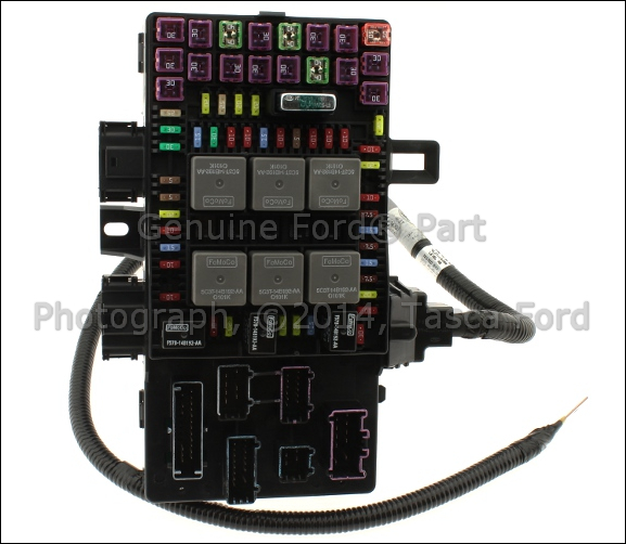 2003 Expedition Fuse Box Part Number : Brand new oem passenger compartment fuse junction block