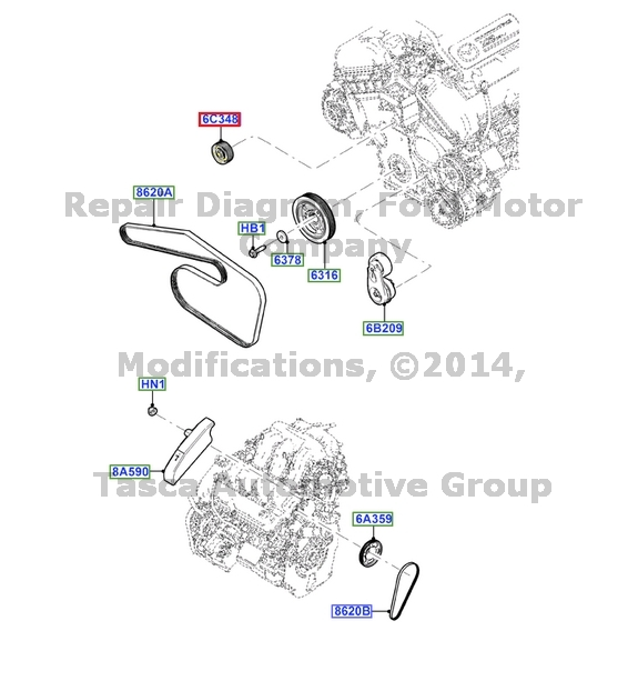 3 0l 24v V6 Duratec Engine Diagram Com