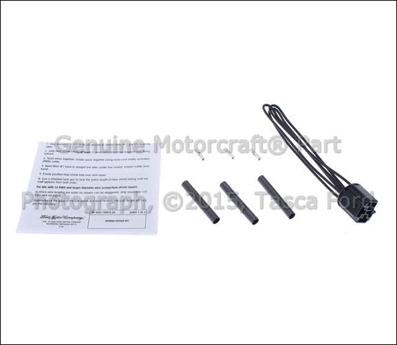 new oem healight headlamp pigtail wiring kit ford econoline f250 f350 duty ebay
