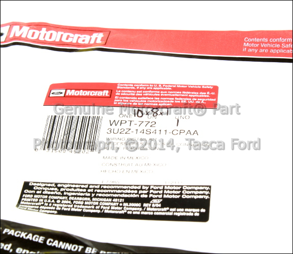 brand new ford lincoln mercury oem low beam headlight pigtail wire harness ebay
