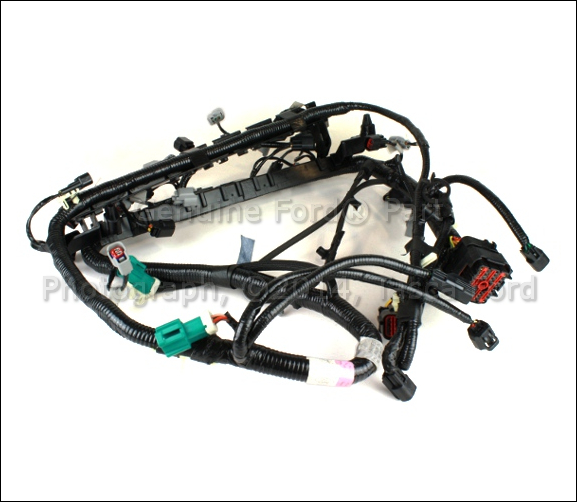 new oem fuel injector wiring harness 2004 ford f250 f350. Black Bedroom Furniture Sets. Home Design Ideas