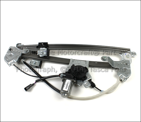 Brand new oem rh side front power window regulator w for 04 f150 window regulator