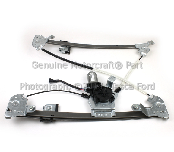 Oem lh side front power window regulator 2004 2006 ford for 04 f150 window regulator