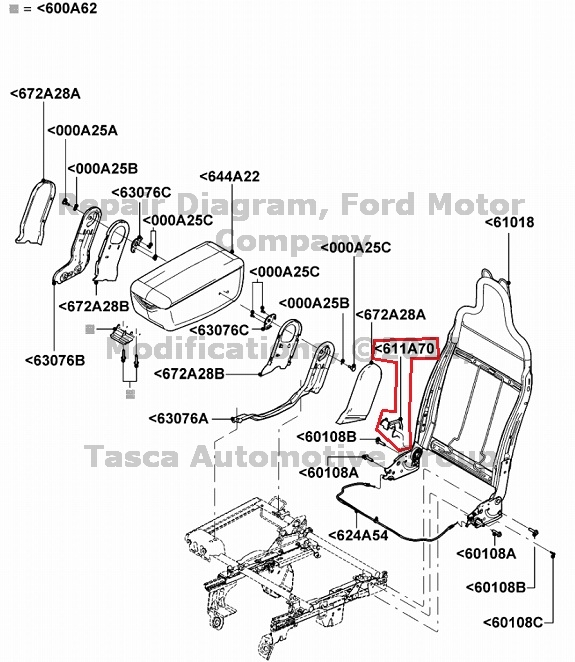 1994 ford ranger replacement seats