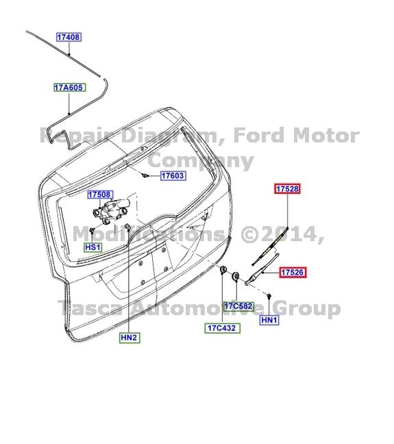 2003 ford taurus wiper fluid hose for 2002 ford focus window regulator repair kit