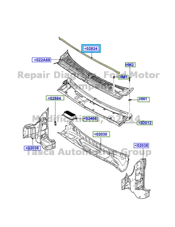 service manual  2005 ford f250 top latch panel how to