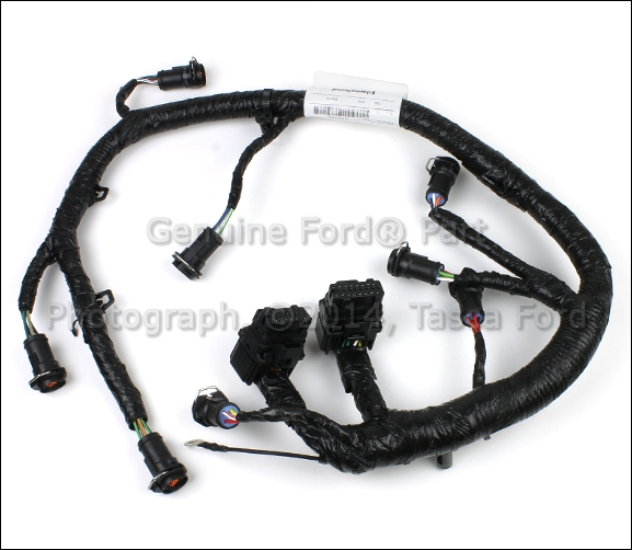 oem fuel injector wire wiring harness 2005 2007 ford f250 f350 f450 f550 6 0l v8 ebay