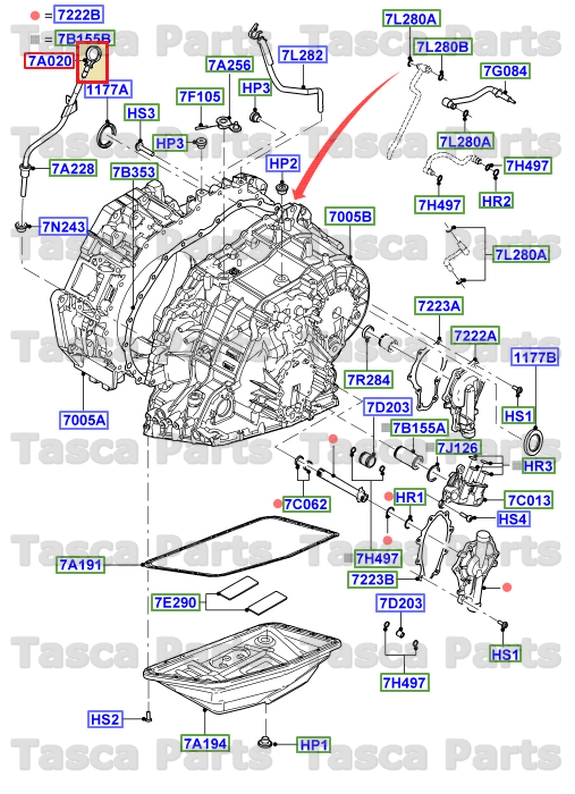 2005 Ford Freestyle Transmission Dipstick Location