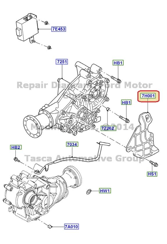 ford interior trim parts