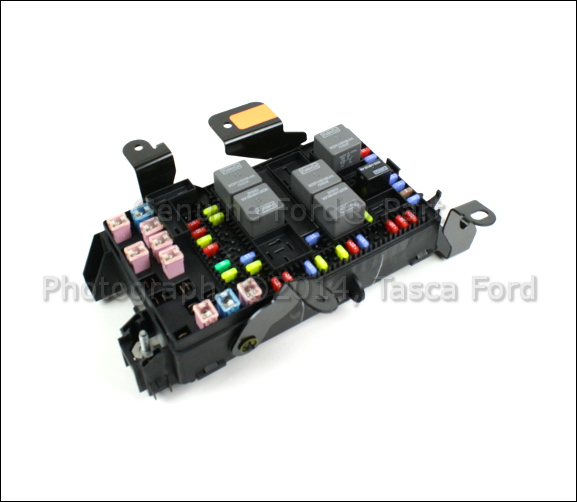 brand new oem fuse box 2006-2007 ford f250 f350 f450 f550 ... f550 fuse box diagram 2005