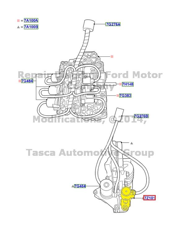 new oem auto transmission solenoid f shift seal 2006