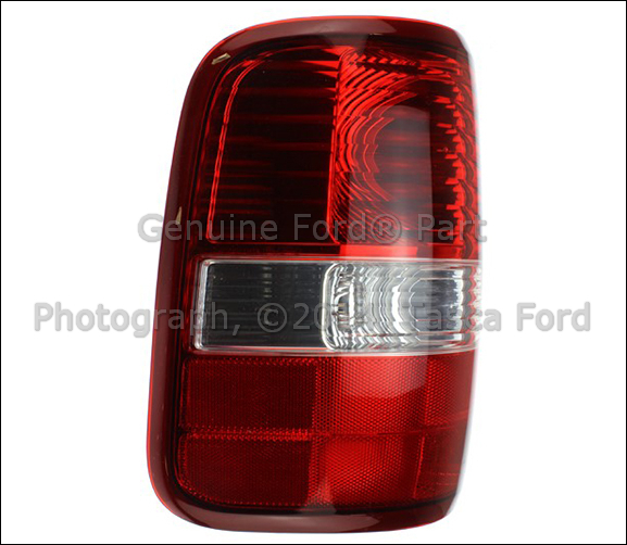 new left side lh rear tail light lens body 2006 2008 ford. Black Bedroom Furniture Sets. Home Design Ideas