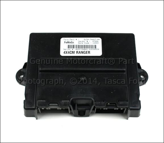 New Oem 4x4 Transfer Case Shift Control Module Ford Ranger