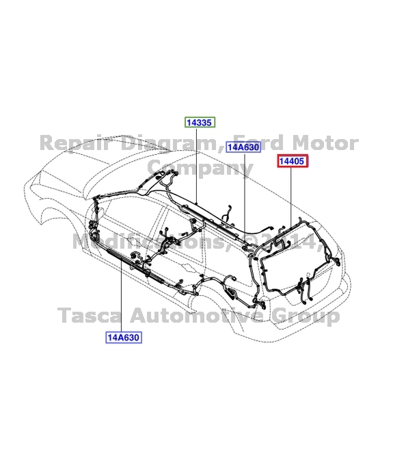 rep 2006 ford focus wiring harness  ford  auto wiring diagram